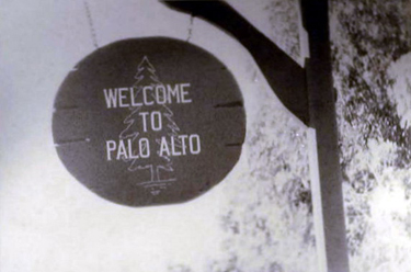 Welcome To Palo Alto Sign